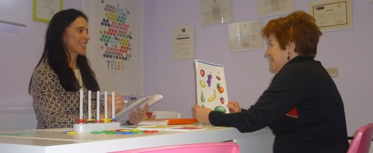 Sala de intervención educativa y estimulación cognitiva